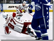Crosby Gets Checked in NHL08
