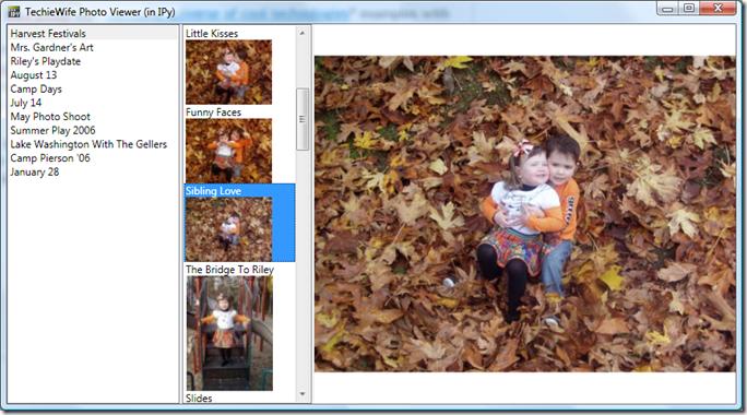 TechieWife Photo Viewer screenshot